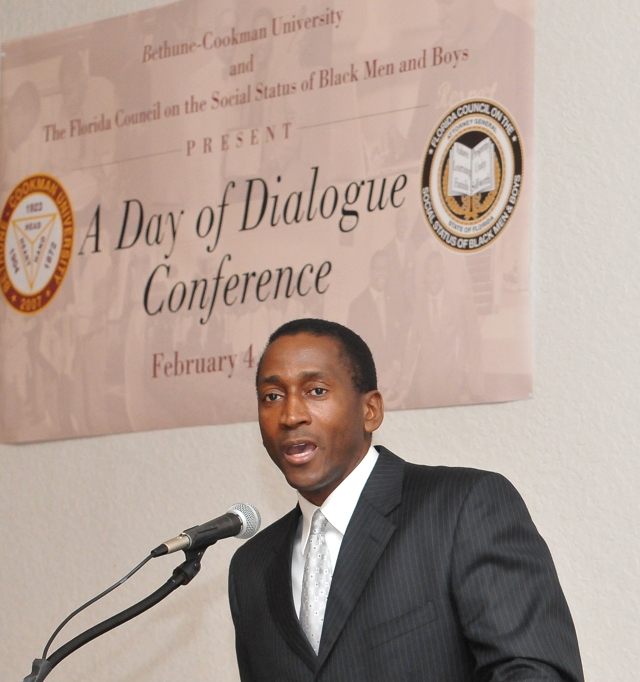 Day of Dialogue Officiate Dr. Billy Close