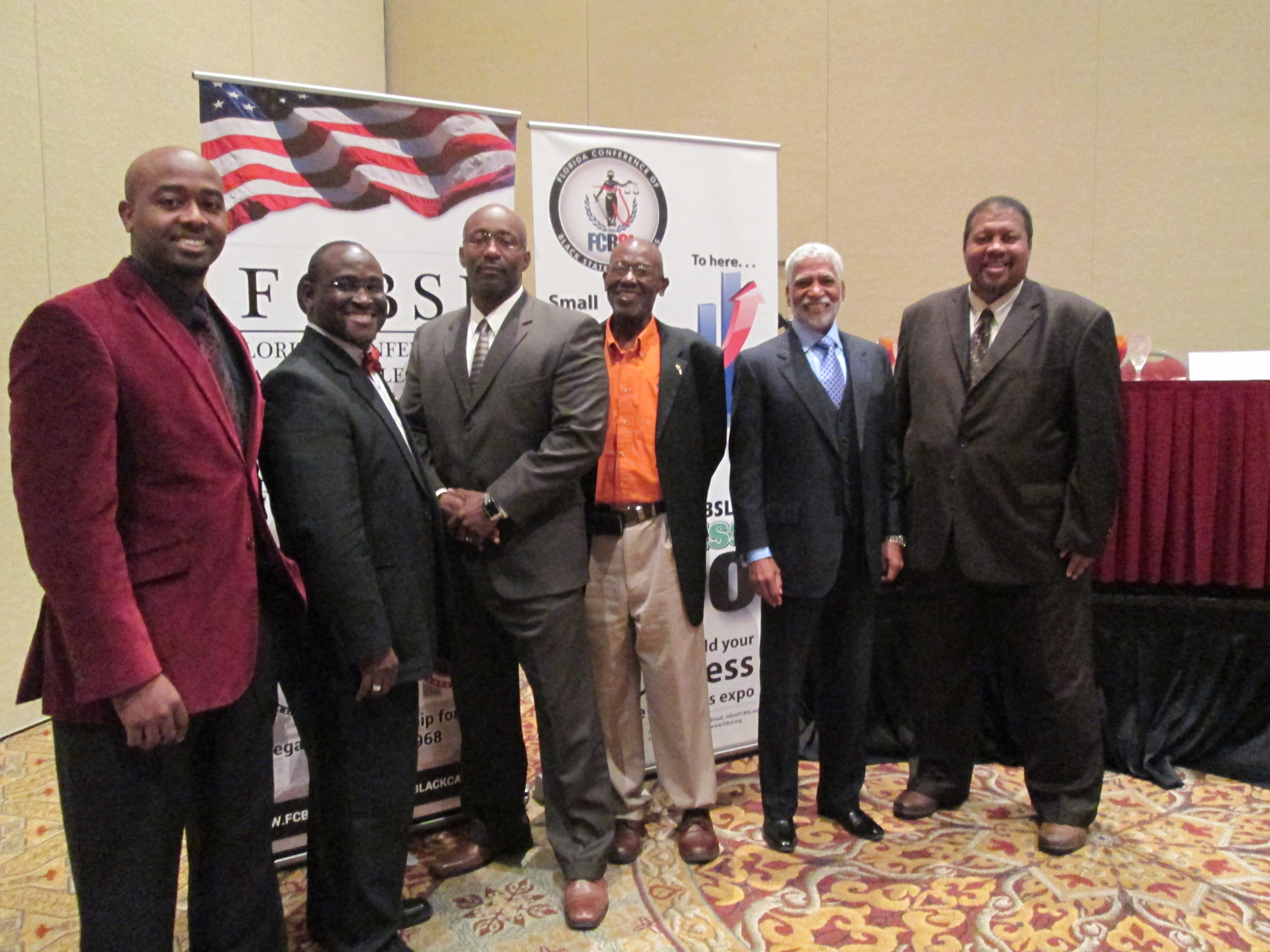 Meeting with the Florida Black Caucus-A few good men