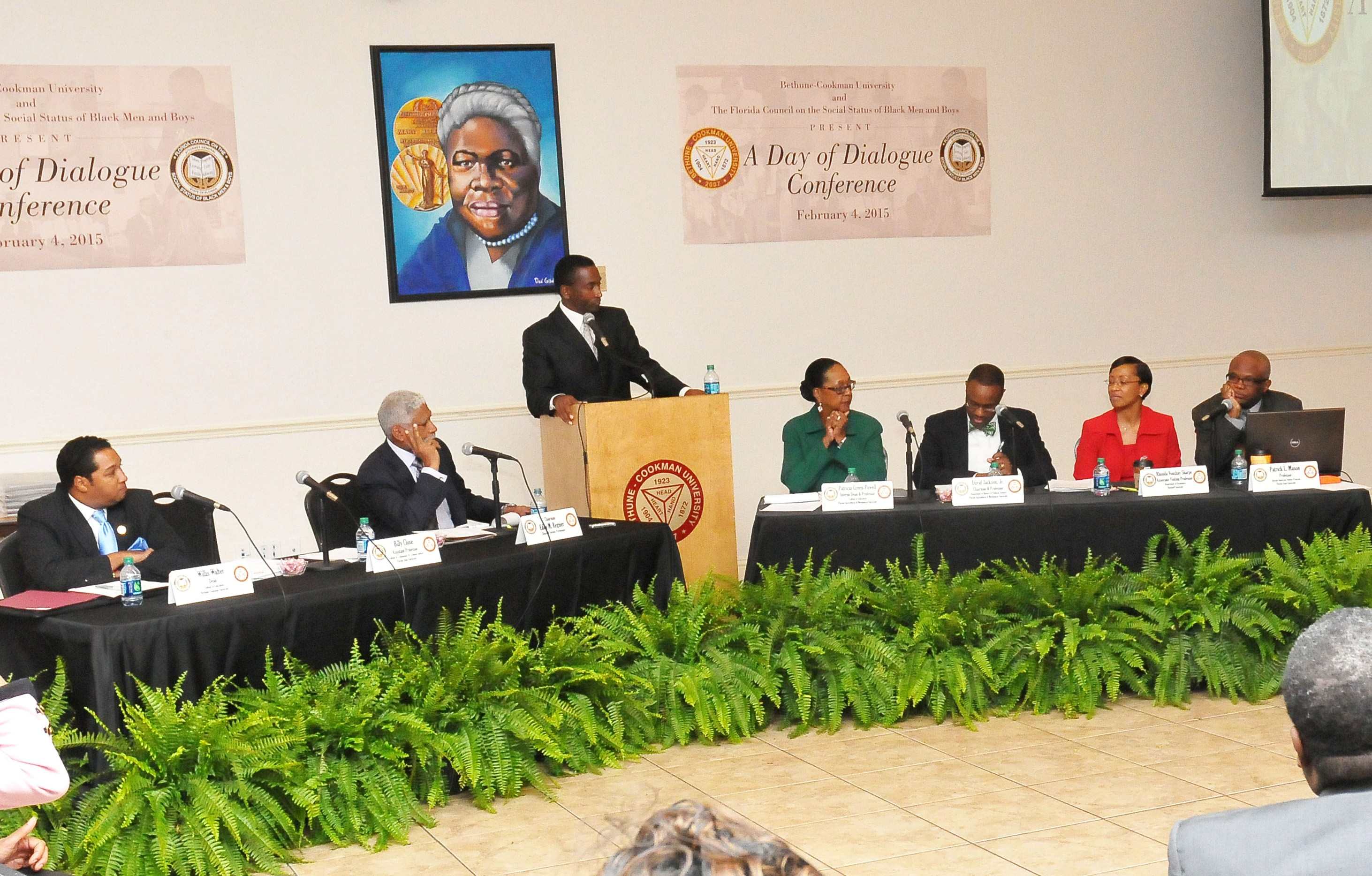 Day of Dialogue Panel: FAMU - David Jackson, Jr. & Patricia Green-Powell, FSU - Patrick Mason, Bucknell University - Rhonda Sharpe and The College Board - Amy Wilkins